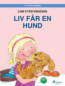 Liv och Emma: Liv får en hund (e-bok) av Line K