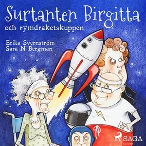Surtanten Birgitta och rymdraketskuppen (ljudbo