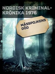 Mässpojkens död (e-bok) av Diverse författare