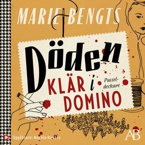 Döden klär i domino (ljudbok) av Marie Bengts