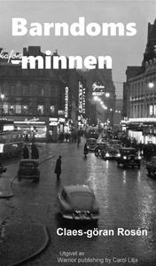 Barndomsminnen (e-bok) av Claes-Göran Rosén