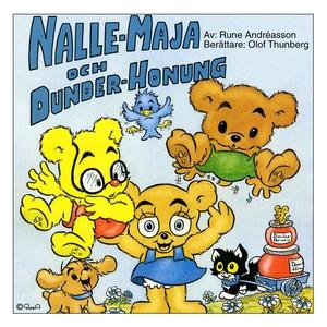 Nalle-Maja och dunder-honung (ljudbok) av Rune