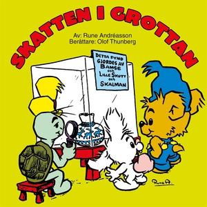 Skatten i grottan (ljudbok) av Rune Andréasson