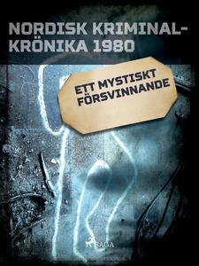 Ett mystiskt försvinnande (e-bok) av Diverse