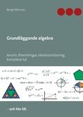Grundläggande algebra: Axiom, förenklingar, ekvationslösning, komplexa tal