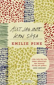 Allt jag inte kan säga (e-bok) av Emilie Pine