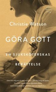 Göra gott : En sjuksköterskas berättelse (e-bok