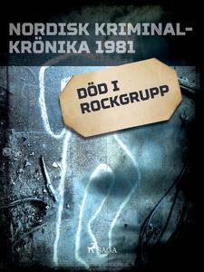 Död i rockgrupp (e-bok) av Diverse