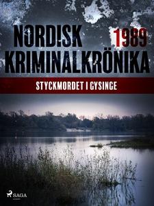 Styckmordet i Gysinge (e-bok) av Diverse