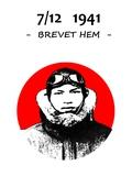 7/12 1941 - Brevet hem -