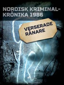 Verserade rånare (e-bok) av Diverse