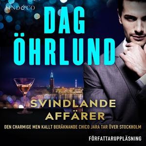 Svindlande affärer (ljudbok) av Dag Öhrlund