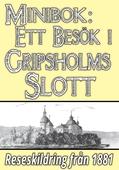 Minibok: En utflykt till Gripsholms slott år 1881 – Återutgivning av historisk reseskildring