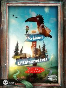 Kråkans otroliga liftarsemester (e-bok) av Frid