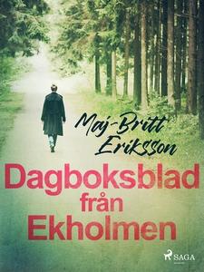 Dagboksblad från Ekholmen (e-bok) av Maj-Britt