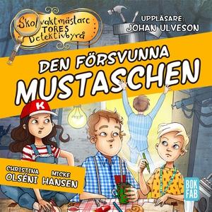 Den försvunna mustaschen (ljudbok) av Christina