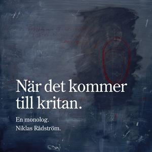 När det kommer till kritan (ljudbok) av Niklas