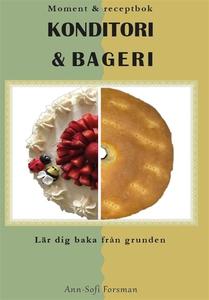 Moment & receptbok KONDITORI & BAGERI (e-bok) a