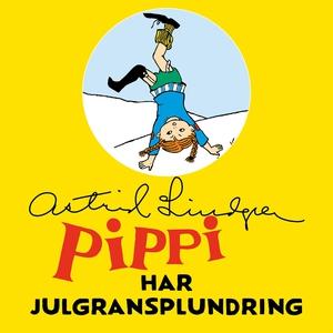 Pippi Långstrump har julgransplundring (ljudbok
