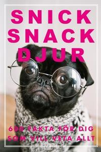 SNICK SNACK DJUR (Epub2) (e-bok) av Nicotext Fö