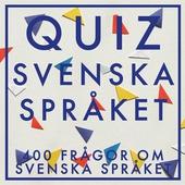 QUIZ : Svenska Språket (PDF)