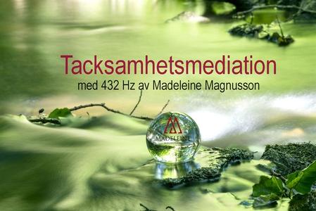 Tacksamhets Meditation (ljudbok) av Madeleine M