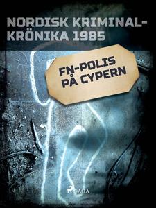 FN-polis på Cypern (e-bok) av Diverse författar