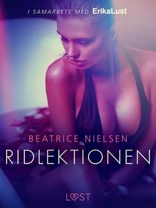 Ridlektionen - erotisk novell (e-bok) av Beatri