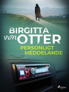 Personligt meddelande (e-bok) av Birgitta von O