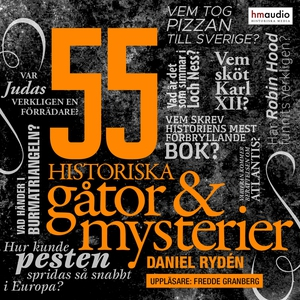 55 historiska gåtor och mysterier (ljudbok) av