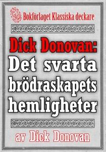Dick Donovan: Det svarta brödraskapets hemlighe