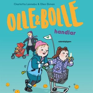 Olle och Bolle handlar (ljudbok) av Charlotta L