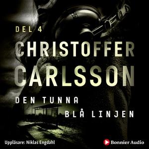 Den tunna blå linjen (ljudbok) av Christoffer C