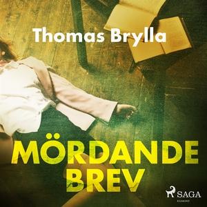 Mördande brev (ljudbok) av Thomas Brylla