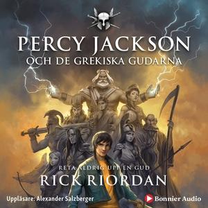 Percy Jackson och de grekiska gudarna (ljudbok)