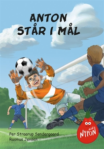 Mininypon - Anton står i mål (e-bok) av Per Str