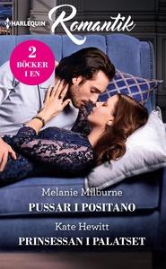 Pussar i Positano/Prinsessan i palatset (e-bok)