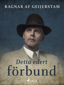 Detta edert förbund (e-bok) av Ragnar af Geijer