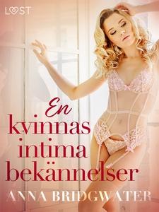 En kvinnas intima bekännelser - erotisk novells
