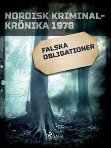 Falska obligationer (e-bok) av Diverse