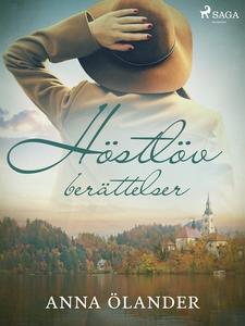 Höstlöv: berättelser (e-bok) av Anna Ôlander