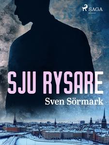 Sju rysare (e-bok) av Sven Sörmark