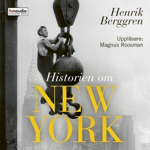 Historien om New York (ljudbok) av Henrik Bergg