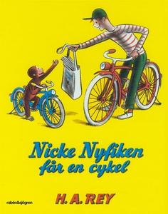Nicke Nyfiken får en cykel (e-bok) av Margret R