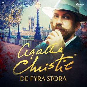 De fyra stora (ljudbok) av Agatha Christie