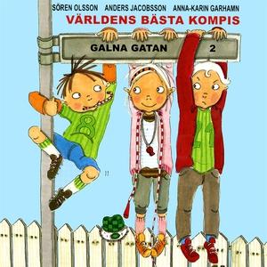 Världens bästa kompis (ljudbok) av Sören Olsson