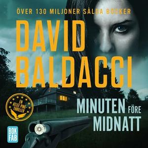 Minuten före midnatt (ljudbok) av David Baldacc
