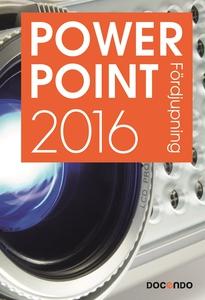 PowerPoint 2016 Fördjupning (e-bok) av Eva Anse