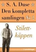 S. A. Duse: Den kompletta samlingen Nr 2 – Stilettkäppen. Återutgivning av detektivroman från 1927