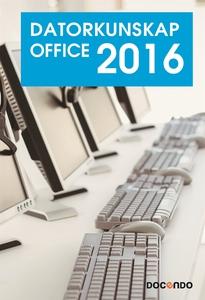 Datorkunskap Office 2016 (e-bok) av Eva Ansell